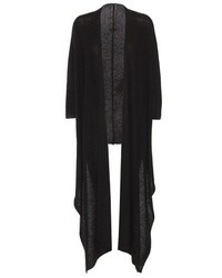 The Row Lacey Cashmere And Silk Open Cardigan