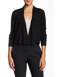 Eileen Fisher Linen Blend Crop Cardigan