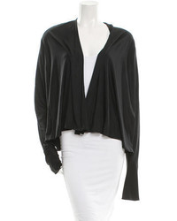Giambattista Valli Open Front Silk Cardigan