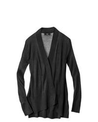 Ralsey Group Mossimo Open Front Cardigan Black Xs