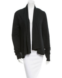 Alexander Wang T By Rib Knit Open Cardigan
