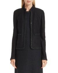 St. John Collection Adina Knit Short Jacket