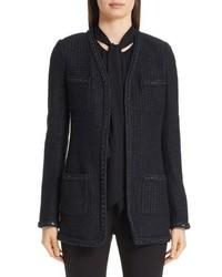 St. John Collection Adina Long Knit Jacket