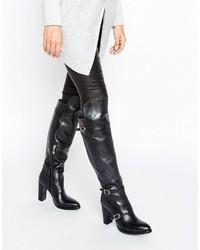 Tommy Hilfiger Gigi Hadid Nautical Over The Knee Heeled Boots