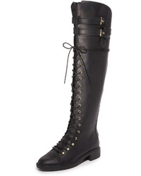 0487f6ef8b3 ... Joie Gryffin Lace Up Over The Knee Boots