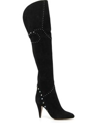 Valentino Rockstud Rolling Over The Knee Boot