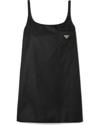 Prada Appliqud Shell Mini Dress
