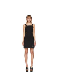 Versace Jeans Couture Black Overall S Dress