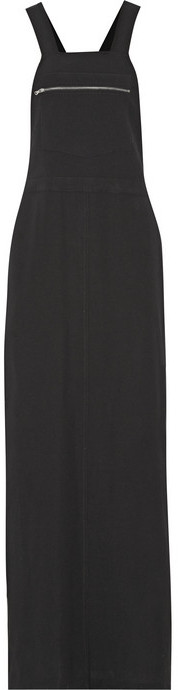 78d4e26ed3d COM › Black Overall Dresses Finds Nomia Twill Maxi Dress ...