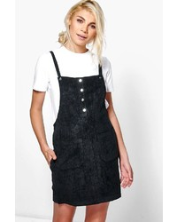 Boohoo Kimberley Tie Waist Pinafore Dress