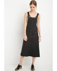Forever 21 Midi Overall Dress