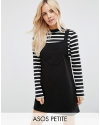 Asos Petite Petite Column Pinafore Dress