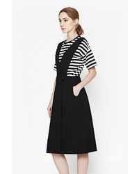French Connection Sund Suiting Pinafore Dress