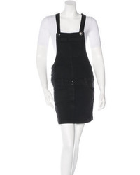 Etoile Isabel Marant Toile Isabel Marant Denim Overall Mini Dress