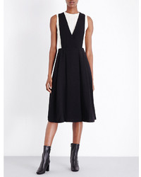 mo&co. V Neck Crepe Dress