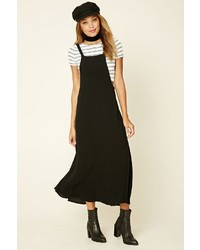Forever 21 Woven Overall Maxi Dress