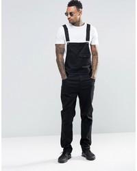 Overalls in black cotton medium 3757253