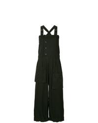 Yohji Yamamoto Oversize Cropped Overalls
