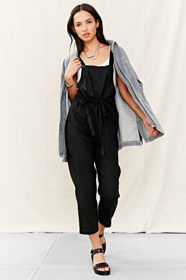 45155ac5f568 ... Urban Outfitters Urban Renewal Mixed Business Linen Overall ...