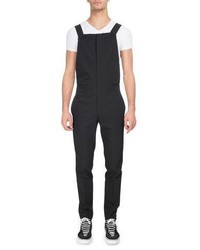 Virgin wool polyester overalls medium 4985839