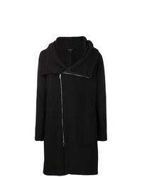 Emporio Armani Asymmetric Zipped Coat