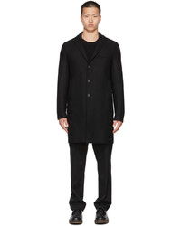 Harris Wharf London Black Cashmere Coat