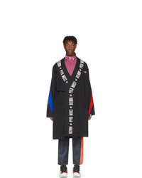 Reebok By Pyer Moss Black Collection 3 Wrap Coat