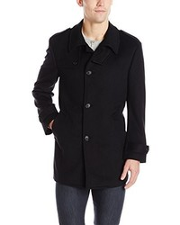 Kenneth Cole New York Black Elmore Coat