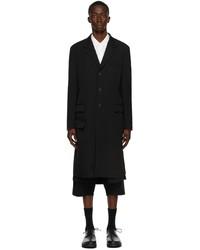 Yohji Yamamoto Black Regulation Doctor Coat