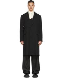 Ambush Black Single Breasted Coat