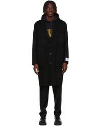 Études Black Wool Archeology Coat