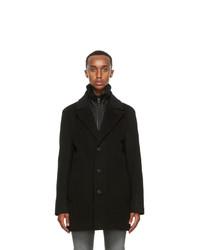 Mackage Black Wool Dillon Coat