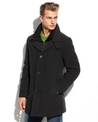 Calvin Klein Coat Coleman Wool Blend Overcoat