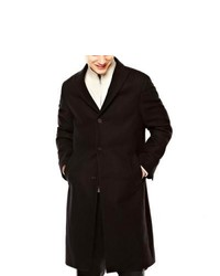 Claiborne Wool Blend Topcoat Black