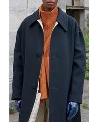 Raf Simons Classic Wool Blend Coat