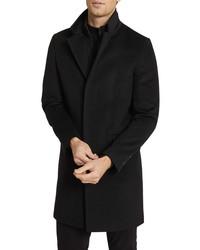Reiss Coal Wool Blend Overcoat