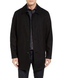 Cole Haan Signature Cole Haan Reversible Wool Blend Overcoat