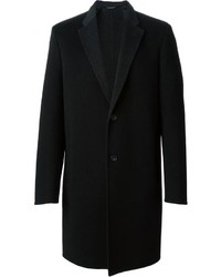 Calvin Klein Collection Classic Single Breasted Coat
