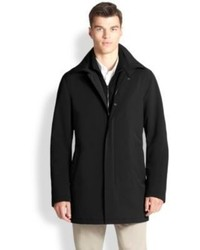 Saks Fifth Avenue Collection Tailored Raincoat