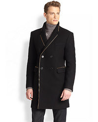 Versace Collection Zippered Coat
