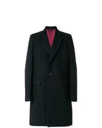 Gucci Contrast Trim Single Breasted Coat