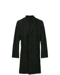 Issey Miyake Men Creased Single Breasted Coat