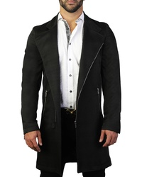 Maceoo Descartes Black Wave Peacoat