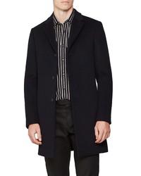 Reiss Gable Epsom Wool Blend Overcoat