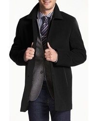 Italian wool blend overcoat medium 841654