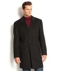 Izod Coat Buxton Wool Blend Overcoat