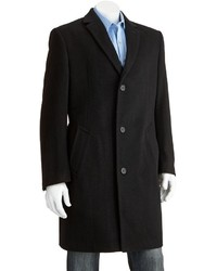 Jean Paul Germain Classic Fit Jeffery 38 In Wool Blend Top Coat