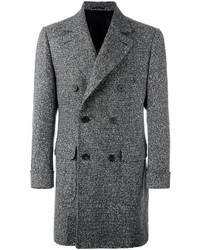 Kiton Double Breasted Long Coat