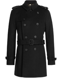 Burberry London Wool Cashmere Trench Jacket