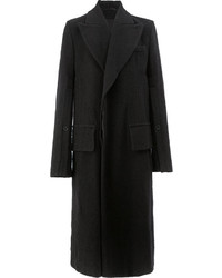 Ann Demeulemeester Long Double Breasted Coat